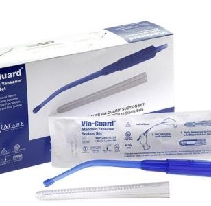 Via-guard-yankauer-surgical-suction-set  medium