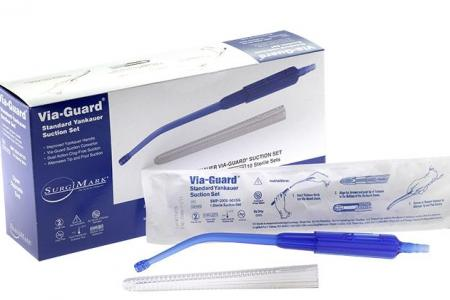Via-Guard Yankauer Surgical Suction Set
